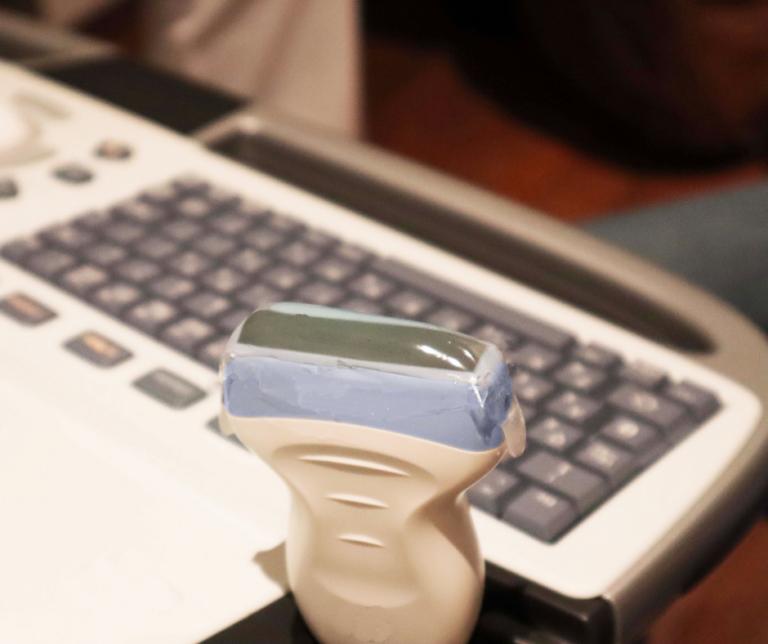 ultrasound pad